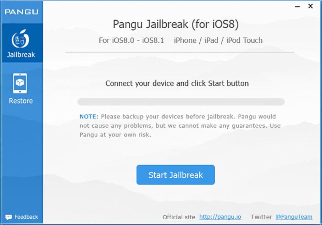 pangu jailbreak OS8