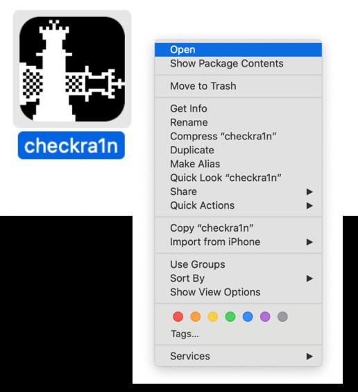 Ouvrez Checkrain
